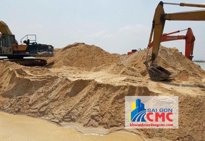 khai thác cát vàng