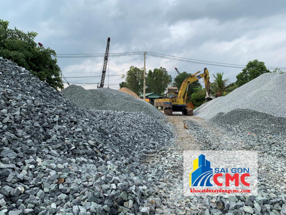 Công ty CP VLXD Sài Gòn cung cấp đá 1x2 chất lượng vận chuyển tới tận công trình