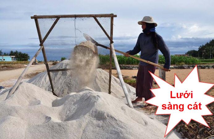 Lưới sàng cát