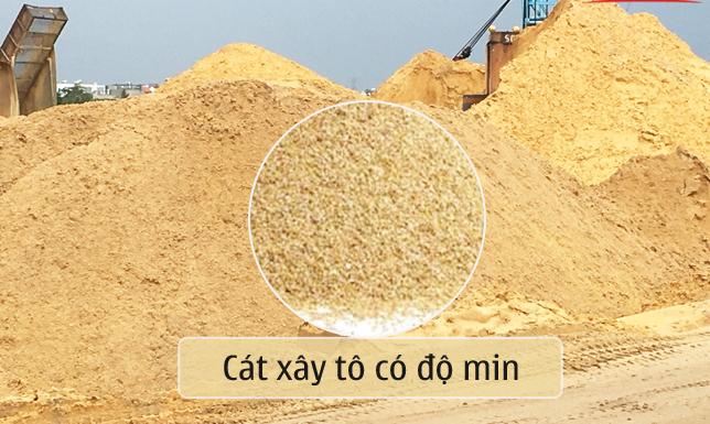Tiêu chuẩn cát trát tường