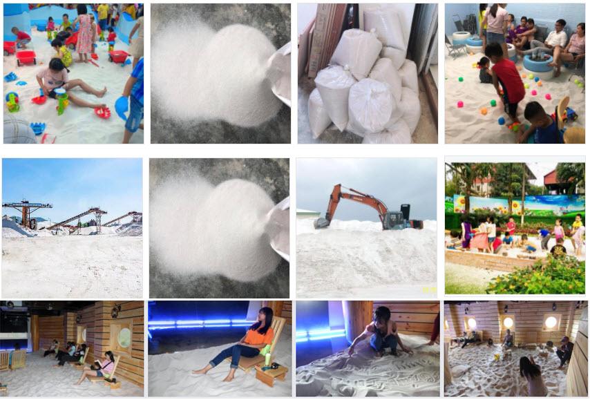 Ứng dụng của cát trắng