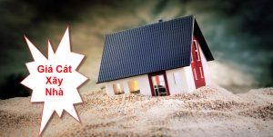Giá cát xây nhà