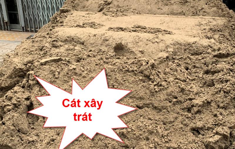 Tiêu chuẩn cát xây trát