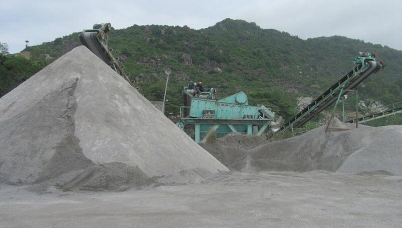 giá cát nhân tạo (cát nghiền) chất lượng cao