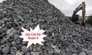 Giá cát đá xây dựng quận 5