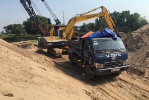 Báo giá cát xây dựng mới nhất