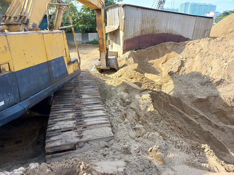 Công ty đTPT Sài Gòn có nhiều kho bãi cát xây dựng khắp các quận huyện tại tphcm